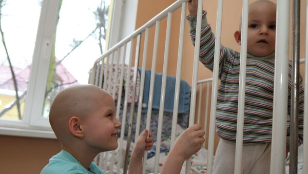 Работа областной детской больницы в Калининграде