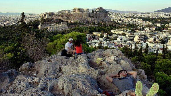 Вид на Афины. Греция