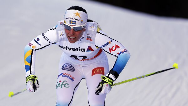 Шведская лыжница Шарлотта Калла