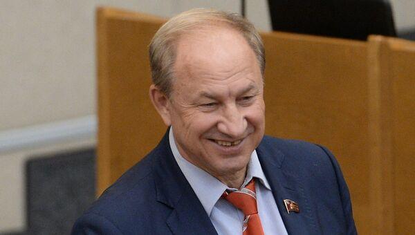 Глава московского городского комитета КПРФ Валерий Рашкин. Архивное фото