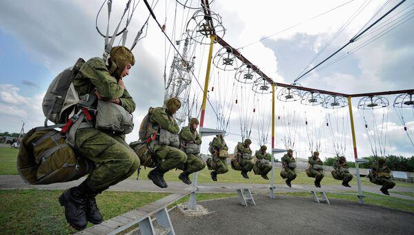 Парашютные тренировки в Ростовской области. Архивное фото
