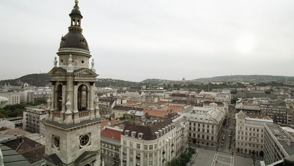 Панорама города Будапешта. Архивное фото