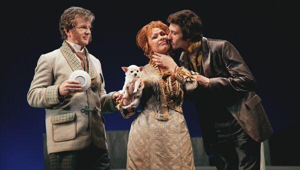 Спектакль Плоды просвещения в Театре Маяковского