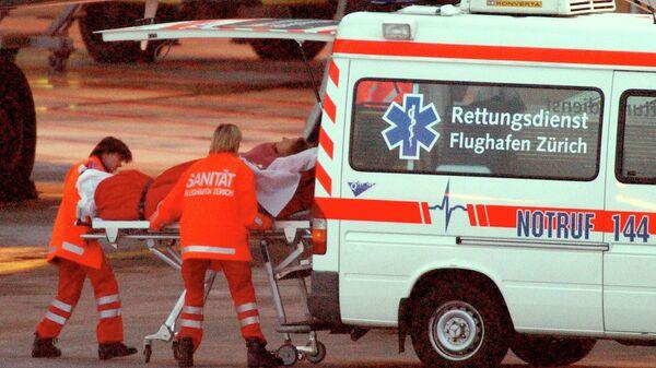 Сотрудники скорой помощи в Швейцарии
