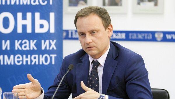 Депутат Госдумы (Единая Россия) Александр Сидякин. Архивное фото