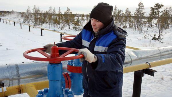 Газопровод компании Газпром. Архивное фото