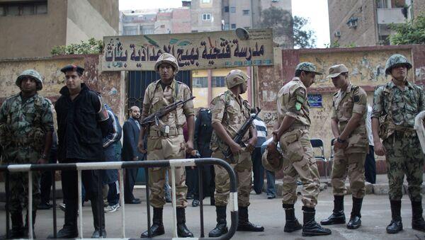 Военнослужащие Национальной гвардии и сотрудники полиции Египта. Архивное фото