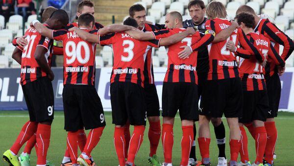 Игроки ФК Амкар. Архивное фото