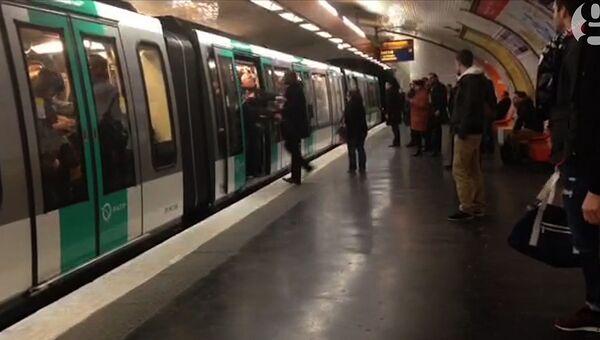 Парижское метро. Архивное фото