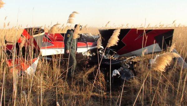 Крушение частного самолета в Ростовской области