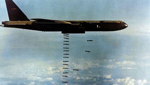 Бомбардировка целей во время войны во Вьетнаме