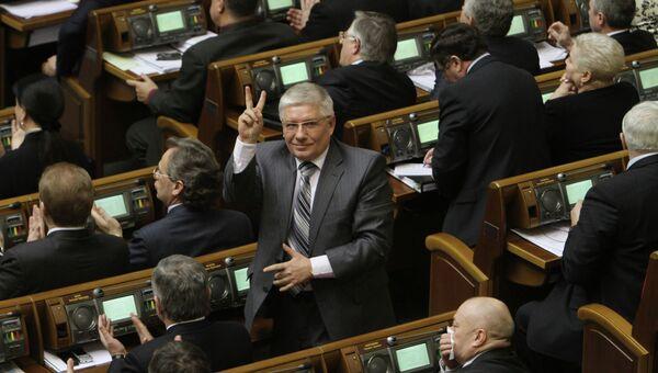 Депутат от Партии регионов Михаил Чечетов, архивное фото