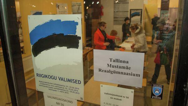 На выборах в парламент Эстонии