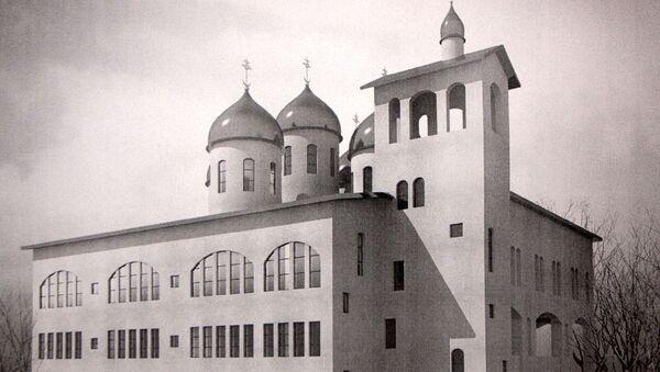 Проект храма во имя преподобного Сергия Радонежского на Ходынке в Москве