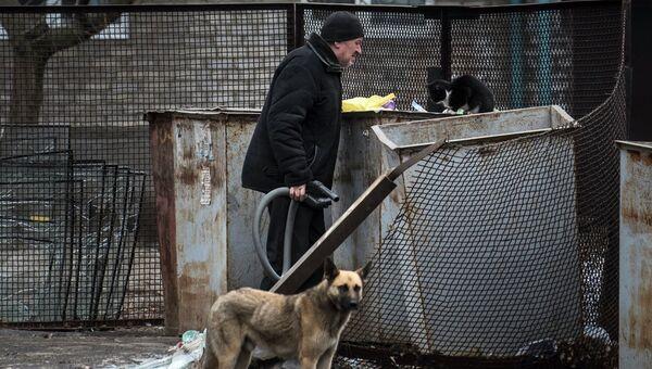 Ситуация в Авдеевке, Украина. Архивное фото