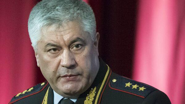 Министр внутренних дел РФ Виктор Колокольцев. Архивное фото