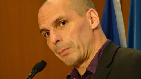 экс-министр финансов Греции Янис Варуфакис. Архив