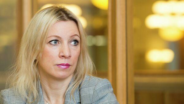 Заместитель директора Департамента информации и печати МИД РФ Мария Захарова. Архивное фото.