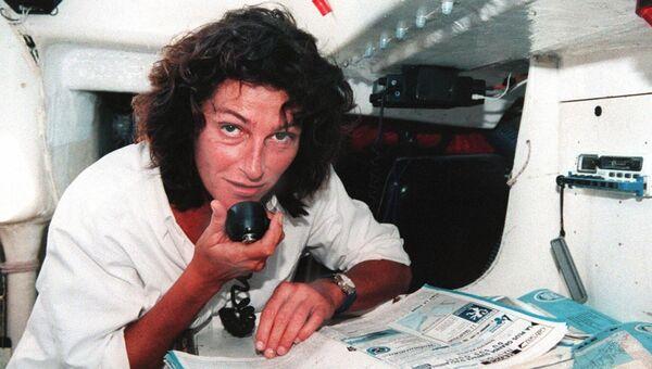 Французская мореплавательница Флоранс Арто. Архивное фото