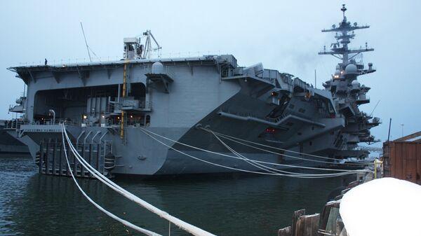 Корабли ВМС США, отправляющиеся в кругосветный поход