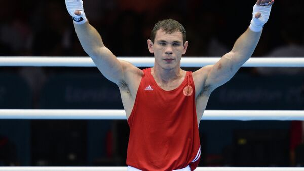 Российский боксер Егор Мехонцев. Архивное фото