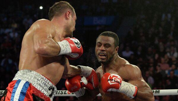 Боксерский поединок Сергея Ковалева и Жана Паскаля 15 марта 2015 года
