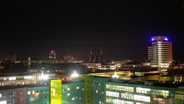 Вид города Ганновер. Архивное фото