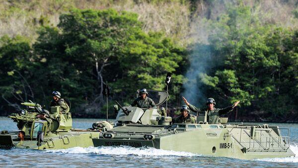 Военные учения в Венесуэле. 14 марта 2015