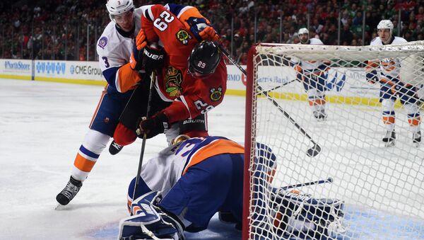 Матч НХЛ Чикаго - Нью-Йорк Айлендерс