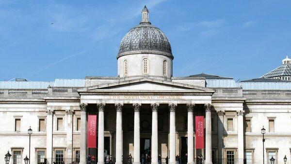 Здание Лондонской Национальной галереи. Архивное фото
