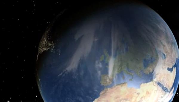 Солнечное затмение: взгляд из космоса