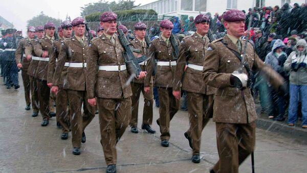 Британские военные на Фолклендских островах