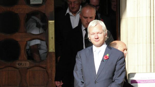 Основатель сайта Wikileaks Джулиан Ассанж, архивное фото
