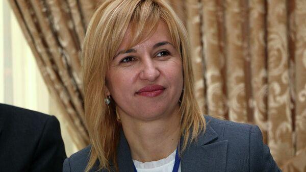 Избранная глава Гагаузии Ирина Влах