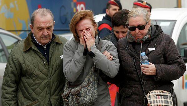 Родные летевших на потерпевшем крушение самолете A320 компании Germanwings