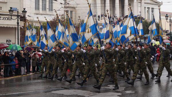 Военный парад в День независимости Греции, Афины