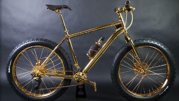 Горный велосипед из золота 24K от The House of Solid Gold