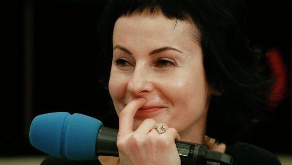Директор Московского театра драмы и комедии на Таганке Ирина Апексимова. Архивное фото