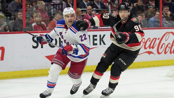 Матч Нью-Йорк Рейнджерс - Оттава в НХЛ, 26 марта 2015