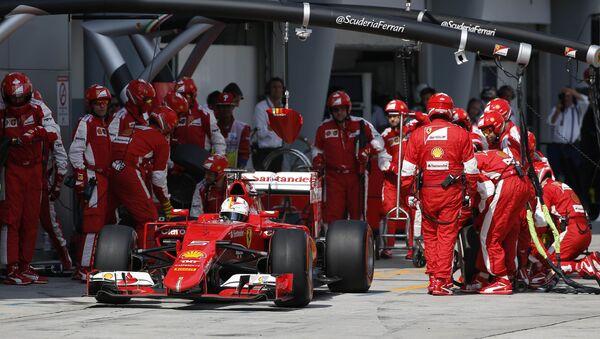 Себастьян Феттель на Гран-при Малайзии, 29 марта 2015 года