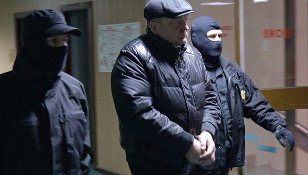 Рассмотрение вопроса об аресте экс-главы ФСИН А.Реймера в Пресненском суде Москвы