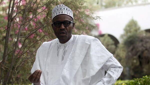 Новый президент Нигерии Мухаммад Бухари, 1 апреля 2015