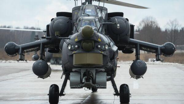 Вертолет Ми-28 Н Ночной охотник. Архивное фото