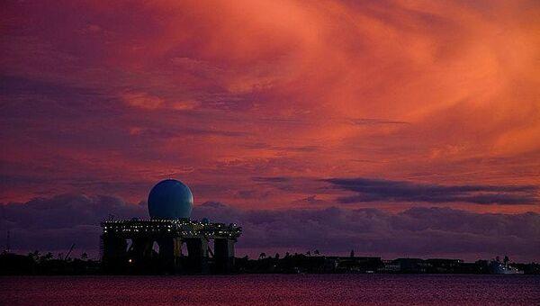 Радиолокационный комплекс морского базирования SBX (Sea Based X-Band). Архивное фото