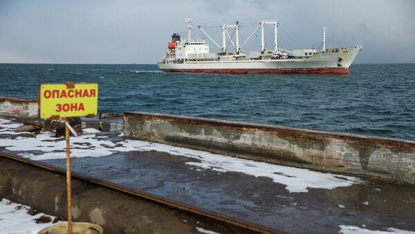 В порт Корсаков доставлены пострадавшие с траулера Дальний Восток. Архивное фото