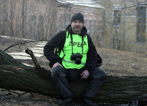 Фотокорреспондент МИА Россия сегодня Андрей Стенин