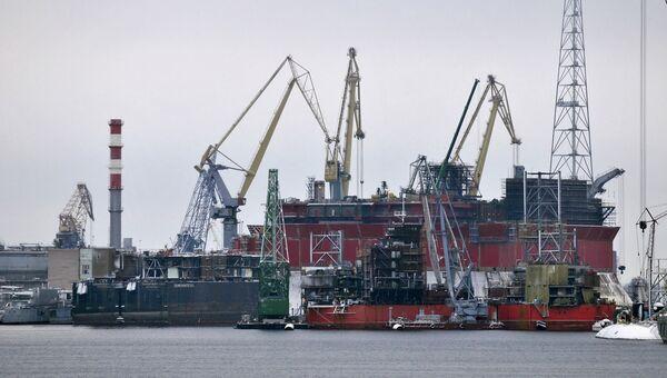 Судоремонтный завод Звездочка в Северодвинске. Архивное фото