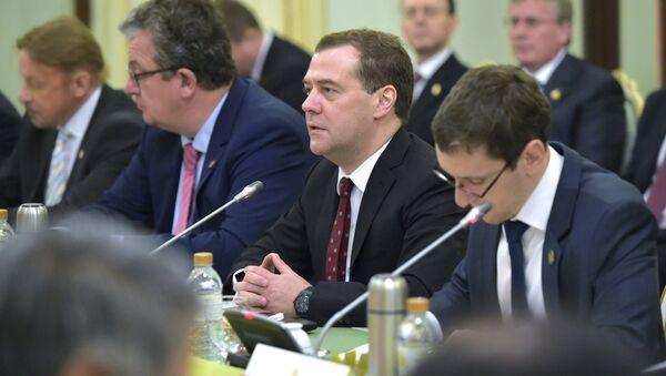 Официальный визит премьер-министра Д.Медведева в Таиланд. Архивное фото