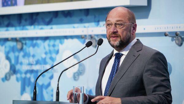 11-я ежегодная конференция Ялтинская европейская стратегия (YES) в Киеве. Президент Европейского парламента Мартин Шульц. Архив
