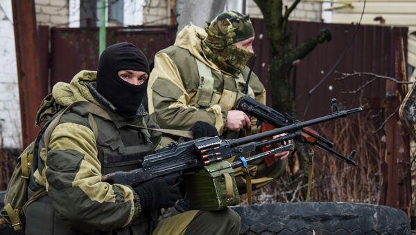Ополченцы ДНР. Апрель 2015